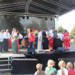 Die Ehrengäste durften das Tanzbein schwingen