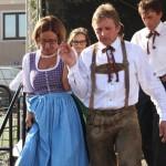 Frau LH-Stv. Hanni Mikl-Leitner nach dem Tanz