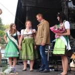 Verabschiedung von Hoheit Cornelia und Krönung von Königin Patricia und Prinzessin Marina