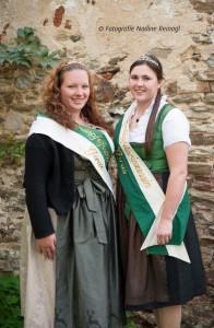 Erdäpfelfestkönigin Marina I. und Erdäpfelfestprinzessin Jasmin I. freuen sich auf euren Besuch